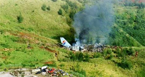 KOREAN AIR - BOEING - B747 (HL-7468) flight no. KL801