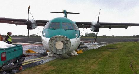 Aer Arann - ATR - ATR72-212 (EI-SLM) flight EI3601