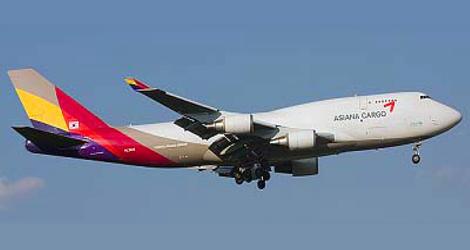 Asiana Cargo - Boeing - B747-400F (HL-7604) flight OZ991