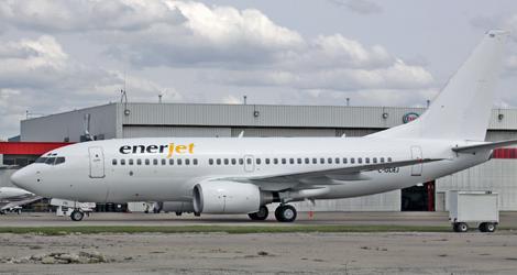 Enerjet - Boeing - B737-700 (C-GDEJ) flight ENJ401