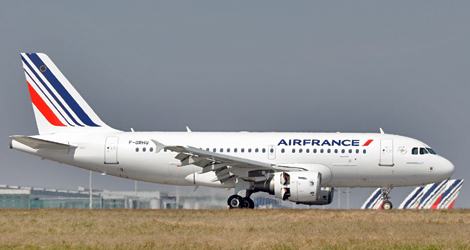 Air France - Airbus - A319-111 (F-GRHU) flight AF2184