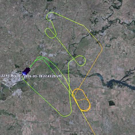 Fly Dubai Boeing B737-8KN (A6-FDN) flight FZ981