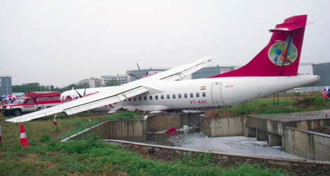 final position of Kingfisher Airlines flight IT4124 - ATR - ATR72-212 (VT-KAC)