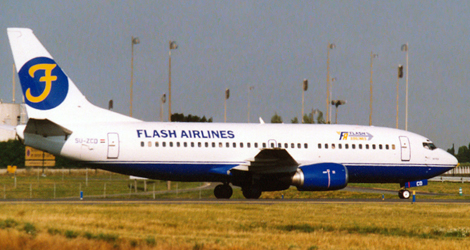 Flash Airlines flight FSH604 - Boeing B737-300 (SU-ZCF)