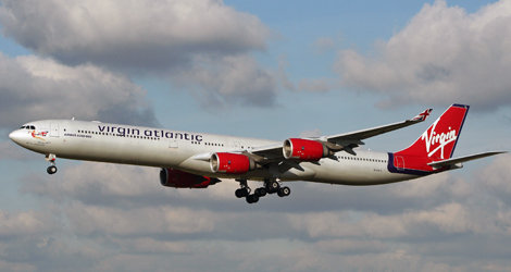 Virgin Atlantic flight VS207 - Airbus A340-642 (G-VATL)