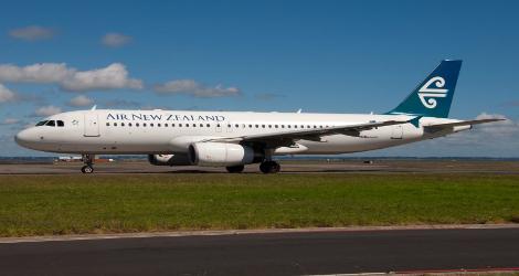 AirNew Zealand flight NZ412