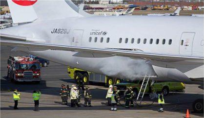 Japan Airlines Boeing B787 registered JA829J