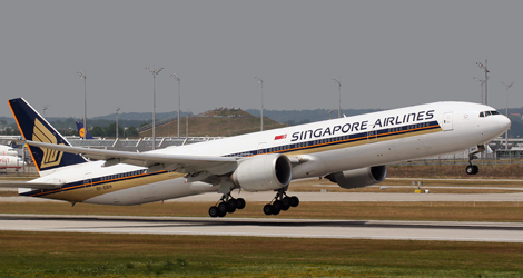 SINGAPORE AIRLINES flight SQ61
