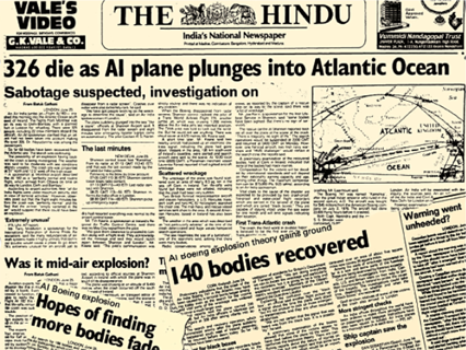 Air India flight AI182