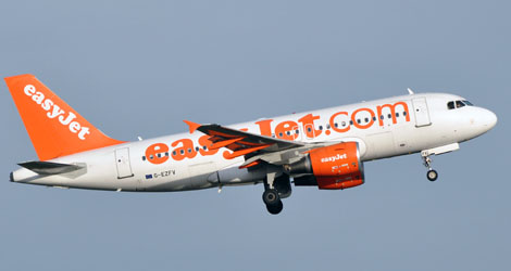 Easy Jet flight EZY2016