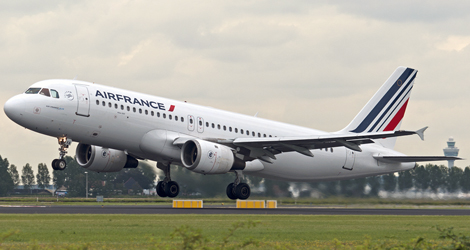 Air France flight AF268P - Airbus A320 F-GJVA