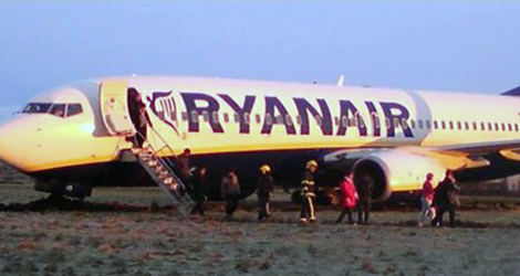 Ryanair flight FR772