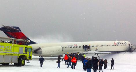 Delta Airlines flight DL1086