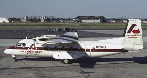 Allegheny Airlines flight AL561