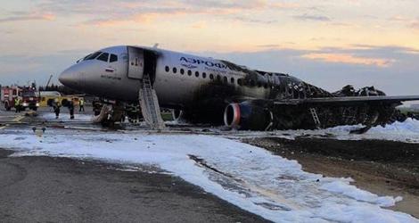 Aeroflot Superjet 100 flight SU1492---