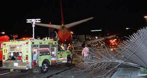 Southwest Airlines flight WN1455