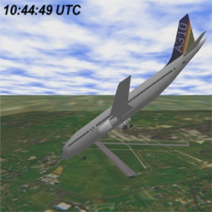 TAROM A310 (YR-LCA) flight ROT381