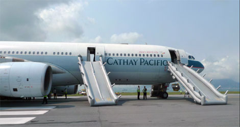 Cathay Pacific Airways - Airbus - A330-342 (B-HLL) flight CPA780