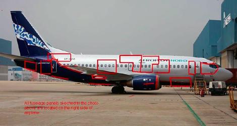 Aeroflot-Nord - Boeing - B737-505 (VP-BKO) flight AFL821