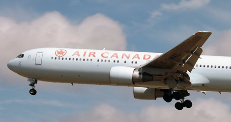 AIR CANADA - BOEING - B767-333 (C-FMXC) flight no. AC848