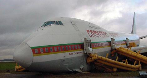 Cameroon Airlines - Boeing - B747-200 (TJ-CAB) flight UYC070