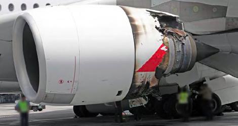 Qantas - AIRBUS - A380-842 (VH-OQA) flight QF32