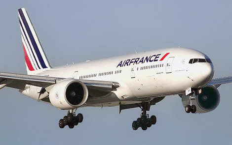 Air France - Boeing - B777-200 (F-GSPP) flight AF471