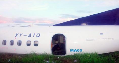 Myanmar Airways - Xian Aircrafts - MA-60 (XY-AIQ)
