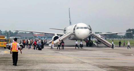 Silkair flight SLK112 - Airbus A319-133 (9V-SBH)