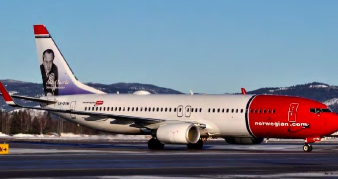 Norvegian Air Shuttle flight NAX5630 - Boeing B737-800 (LN-DYM)