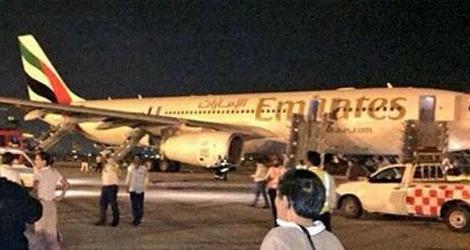 Emirates flight EK609 - Airbus A330-243 (A6-EAQ)
