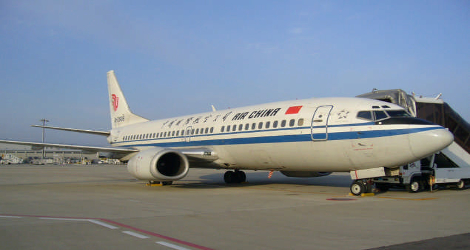 Air China flight CA161