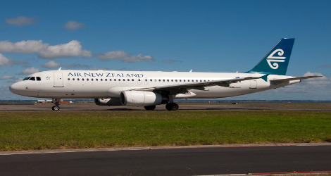 Air New Zealand flight NZ412