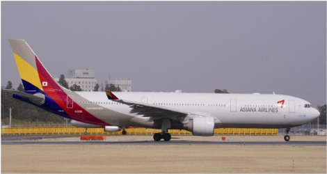 ASIANA AIRLINES - AIRBUS A330-300 (HL8258) flight 231