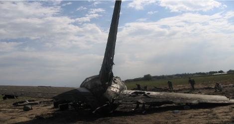 ITEK AIR - BOEING B737-200 (EX-009) flight IRC6895