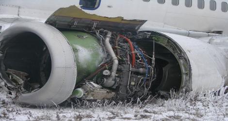 TAROM - BOEING B737-300 (YR-BGC) flight ROT3107