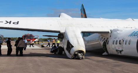 Merpati Nusantara Airlines flight MZ6517