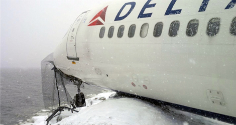 Delta Airlines flight DL1086