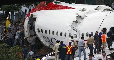 TACA flight TA390