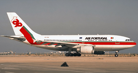 Air Portugal flight TP1107
