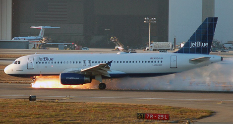 Jet Blue Airways flight JBA292