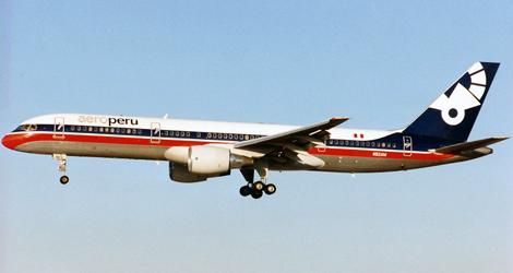 Aeroperu flight PL603