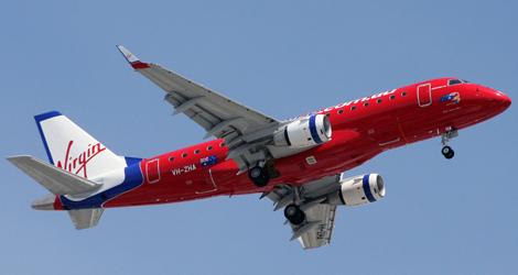 Virgin Blue airplane VH-ZHA