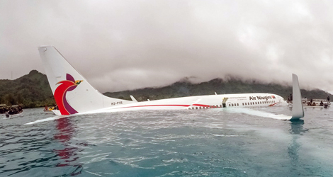Air Niugini flight PX073