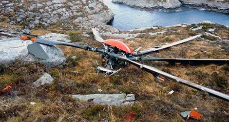 CHC Helikopter Service flight HKS241